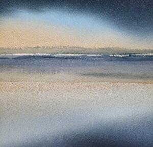 Horisont Watercolour 20 x 20 cm