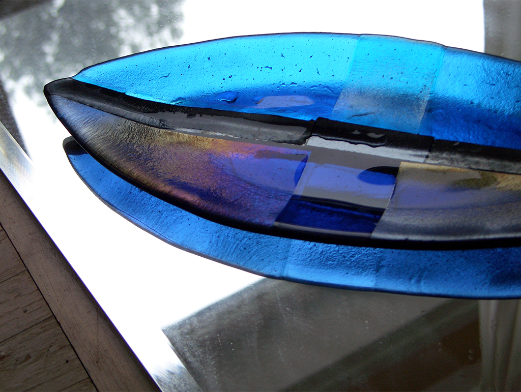 Blue Ocean - glass