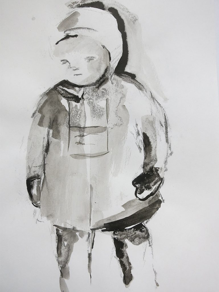 Farewell, War Child - ink